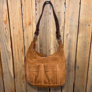 Tylie Malibu Brown Leather Hobo